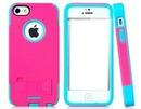 celular rosa e azul
