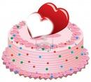pastel de corazon