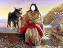 india con lobo