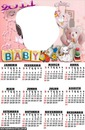 Calendário 2014 Baby Lolo