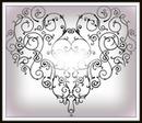 coeur fioritures 1 photo