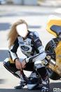 sexy girl moto