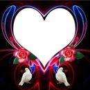 corazon en palomas 1