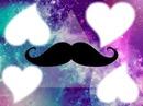 Moustache dans L'espace