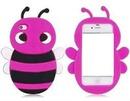 Celular abelha rosa/preta
