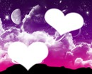 2 coeurs romantique