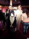 repas de gala a Paris avec deux acteur tres connus