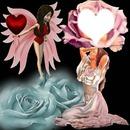 cadre romantique coeur
