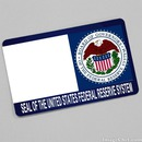 Seal of the United States Federal Reserve System card