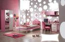 cuarto rosa y plata
