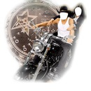 Couple en moto