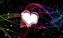 coeur fluo rose 1 photo