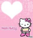 Hello kitty clin d'oeil