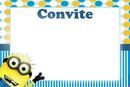 minions convite