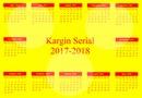 Kargin Serial Calendar 2017-2018