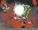 bob esponja zombie