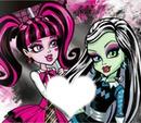 Monster High Frankie e Draculaura