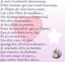 poeme amoureux