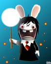 lapin cretin harry potter