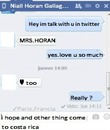 Chat Niall Costa Rica One Direction