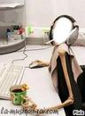 maria sur le bureau