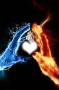 L'eau dans le coeur de feu