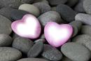 piedras con corazon