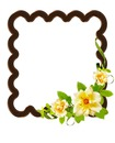 flores enrrolladas en choclatee