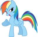 Cuadro de Rainbow Dash