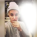 Your face with Justin Bieber