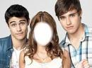 Thomas,Violetta et Leon