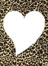 Coeur Peau de léopard