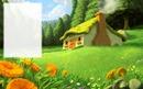 Nature - maison de paille