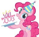 pinkie pie cumpleaños