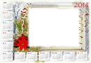 Calendário Natal 2014
