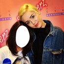 miley and 1 fan