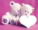 oso con corazon