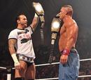 John Cena et CM Punk2