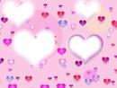 corazones + 4 fotos