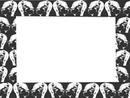cadre têtes noires et blanches -1 photo
