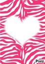 Le coeur Zébré D'amour