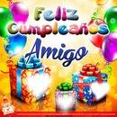 Feliz cumpleaños a un amigo