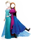 Face Anna e Elsa Frozen