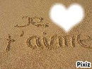 Cadre Je T'aime ♥