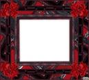 Cadre rouge et noir