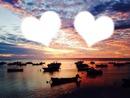 coucher de soleil  romantic