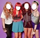 Little Mix faces