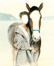 lutina rose cheval