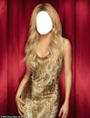 Shakira's  face