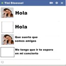 chat falso de tini